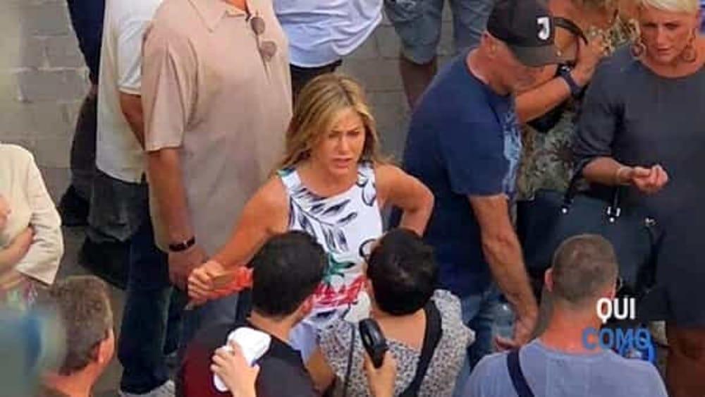 La coppia ospite a Laglio di George Clooney | Brad Pitt a Jennifer ...